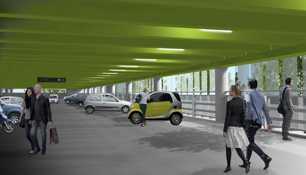 Forus PV parkeringshus