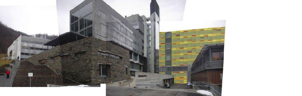 Nytt laboratoriebygg, Haukeland universitetssykehus, utført av Arkitektfirmaet C.F. Møller