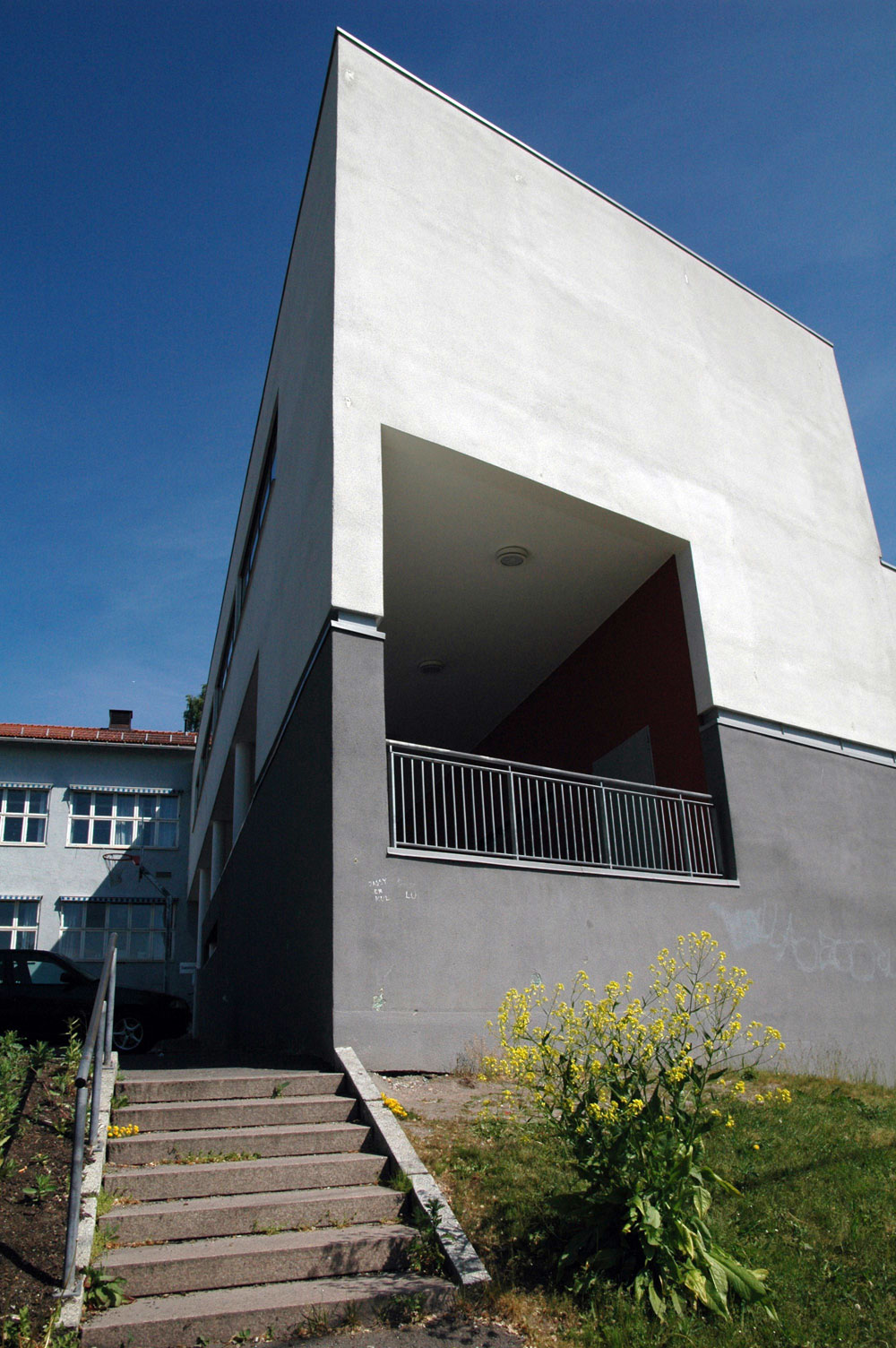 Holtet videregående skole, utført av Arkitektfirmaet C.F. Møller