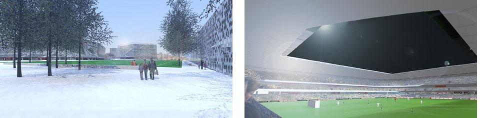 Nasjonalstadion fotball og idrettshall