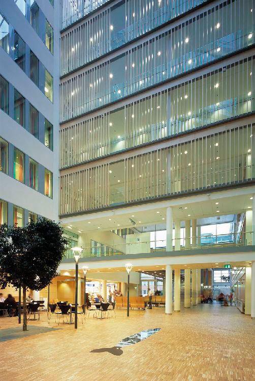 Sykehuset i Vestfold, 6.byggetrinn. Utført av Arkitektfirmaet C.F. Møller