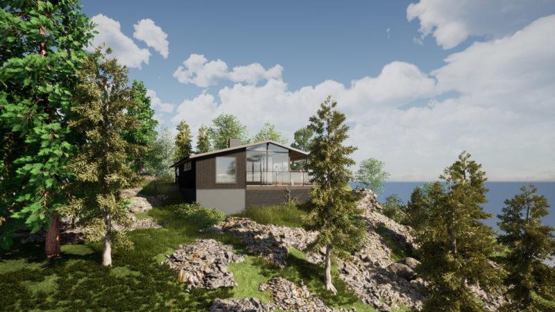 Trillerkollen i Østfold – fornyelse av hytte