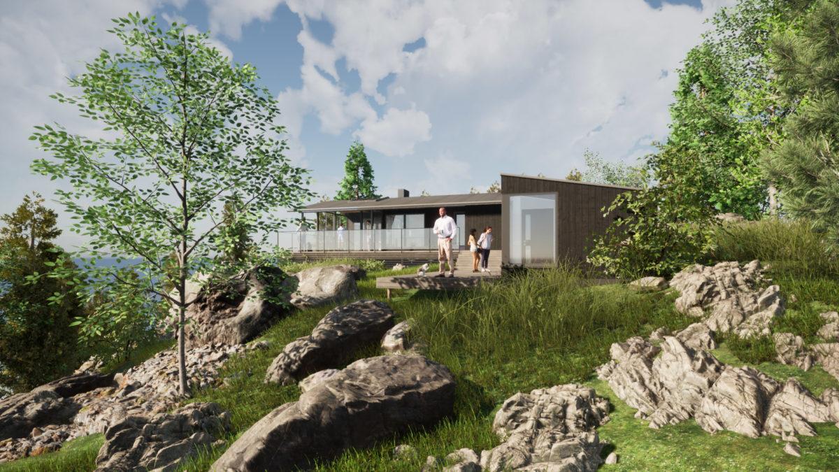 Fornyelse av hytte: Trillerkollen i Østfold